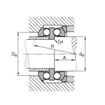 Axial deep groove ball bearings - 54215