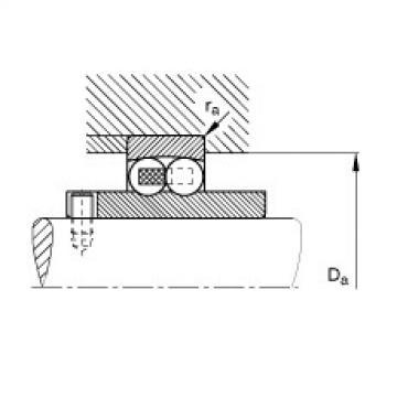 Self-aligning ball bearings - 11209-TVH