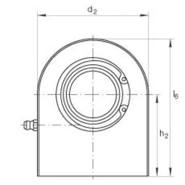 Hydraulic rod ends - GF80-DO