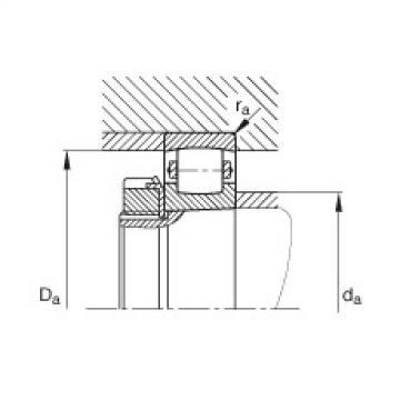 Barrel roller bearings - 20210-K-TVP-C3