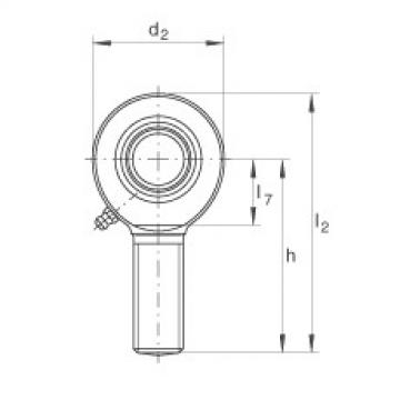 Rod ends - GAL45-DO-2RS
