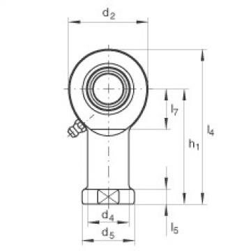 Rod ends - GIL60-DO-2RS
