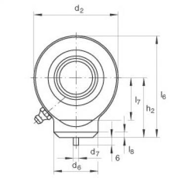 Hydraulic rod ends - GK80-DO