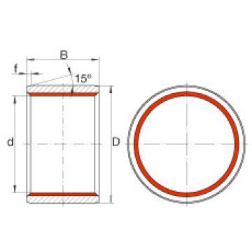 Cylindrical plain bushes - ZGB180X200X180