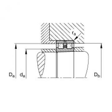 Cylindrical roller bearings - NN30/500-AS-K-M-SP