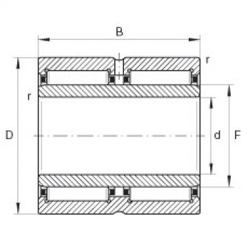 Needle roller bearings - NA6914-ZW-XL