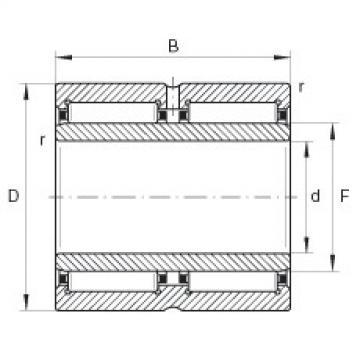 Needle roller bearings - NA6917-ZW-XL