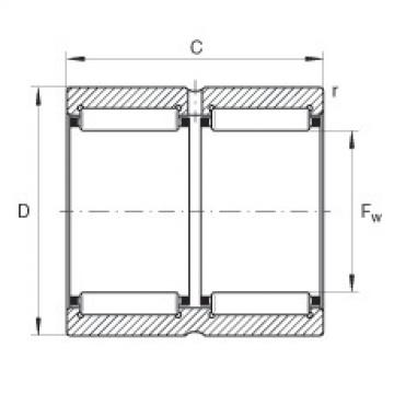 Needle roller bearings - RNA6911-ZW-XL