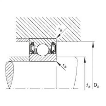 Deep groove ball bearings - 61914-2RZ