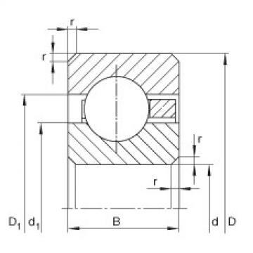 Thin section bearings - CSCB080