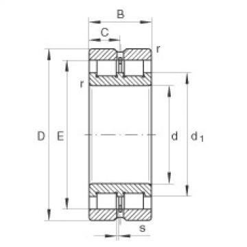 Cylindrical roller bearings - SL024952