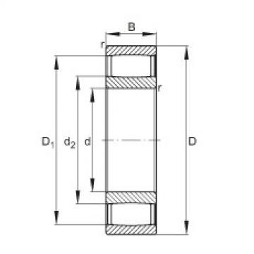 Toroidal roller bearings - C4136-XL-V