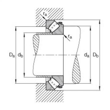 Axial spherical roller bearings - 29417-E1-XL