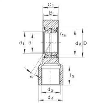 Hydraulic rod ends - GIHRK70-DO