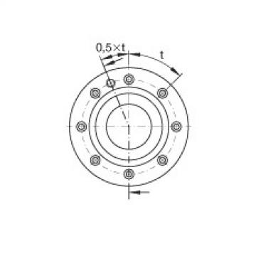 Axial angular contact ball bearings - ZKLF80165-2Z-XL
