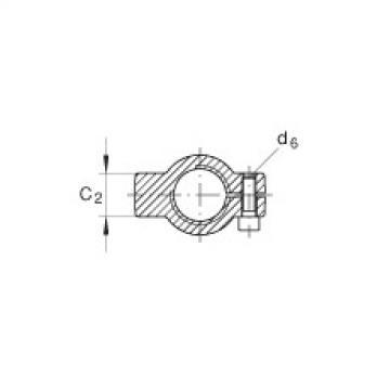 Hydraulic rod ends - GIHNRK80-LO
