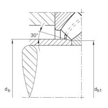 Axial spherical roller bearings - 29436-E1-XL