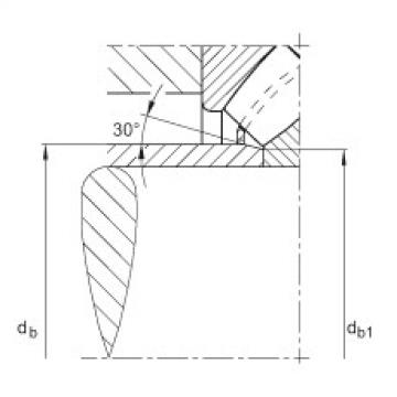Axial spherical roller bearings - 29468-E1-XL