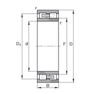 Cylindrical roller bearings - NNU4164-M