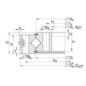 Crossed roller bearings - XU160260