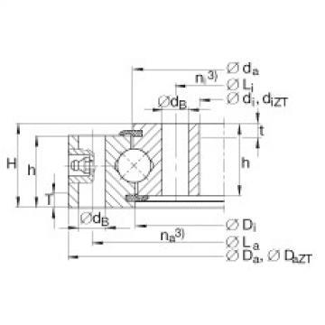 Four point contact bearings - VU250380