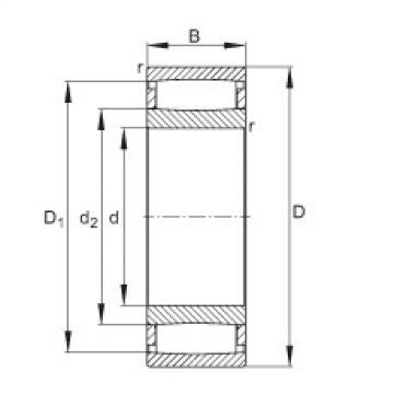 Toroidal roller bearings - C4160-XL-M1B