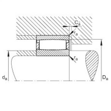 Toroidal roller bearings - C41/600-XL-M1B