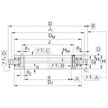 Axial/radial bearings - YRTM395