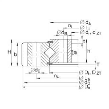 Crossed roller bearings - XA120235-N