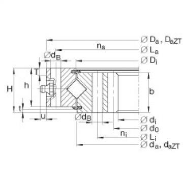 Crossed roller bearings - XI120288-N