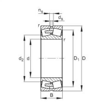 Spherical roller bearings - 23160-BEA-XL-MB1