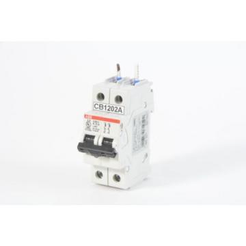 ABB S202U-K13, 2 Pole 13A, 240VAC Circuit Breaker