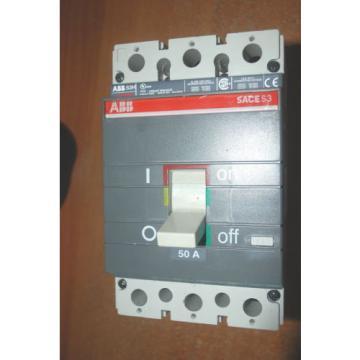 ABB AD110254279 SACE S3 3 Pole Breaker 150 Amp CB6 400V A.C. CSQ