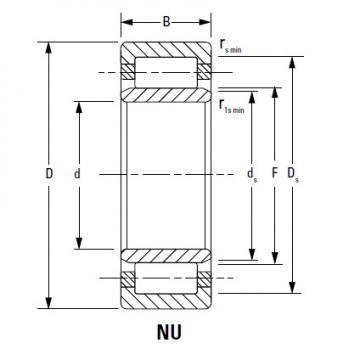 Bearing NUP252MA