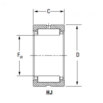 Bearing HJ-9612040 IR-809640