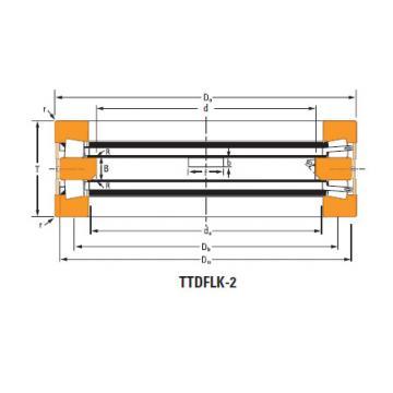 Bearing Thrust race double T8110f