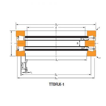 Bearing Thrust race double T6110f