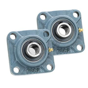 2x 15/16in Square Flange Units Cast Iron UCF205-15 Mounted Bearing UC205-15+F205