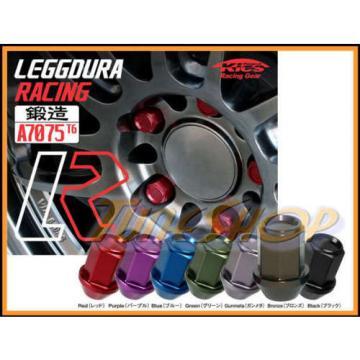 KICS LEGGDURA 35MM WHEELS LOCKS LUG NUTS 12X1.25 1.25 ACORN RIM FORGED BRONZE N