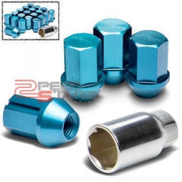 X20 RACE RIM/WHEEL BLUE LOCK/LOCKING LUG NUTS M12X1.25