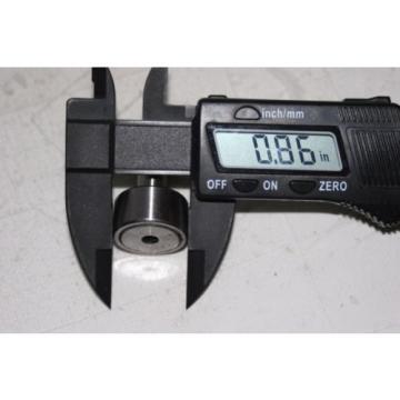 (2 Lot) Cam Follower Roller Bearing KR22 (CF10) 10MM-1.25 thread