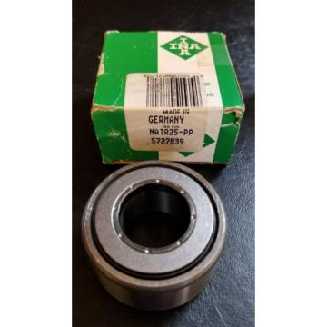 INA NATR25-PP Cam Follower Bearing New
