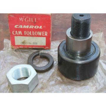 "McGill Camrol CFE 3 SB Cam Follower CFE3SB 3"" Bearing 1-1/4"" Stud NOS Unused"
