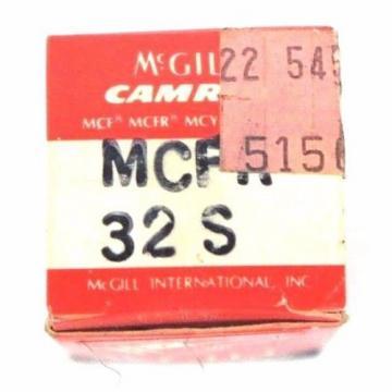 LOT OF 2 NIB MCGILL, MCFR 32 S, CAM FOLLOWERS, MCFR32S