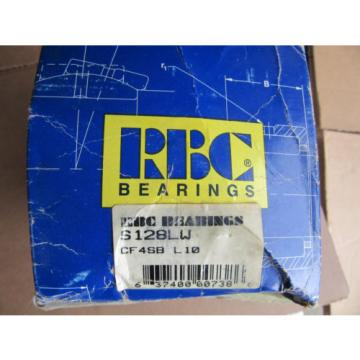 RBC Bearings S128LM Cam Follower CF 4SB NEW!!! in Box Free Shipping