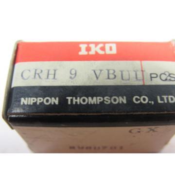IKO CRH9VBUU Cam Followers Bearings Box of 2