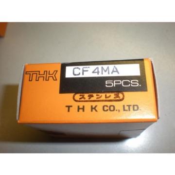 Lot of (5) THK Model CF4MA Cam Follower Bearings - NIB