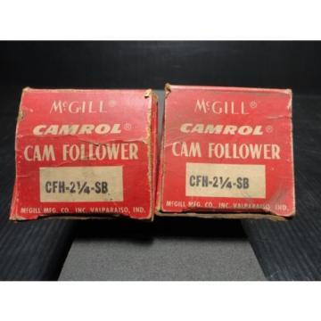 "*NEW*McGill CFH 2 1/4"" SB Flat Cam Follower"
