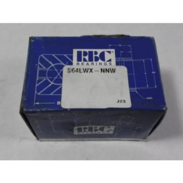 RBC S64LWX-NNW Cam Follower ! NEW !