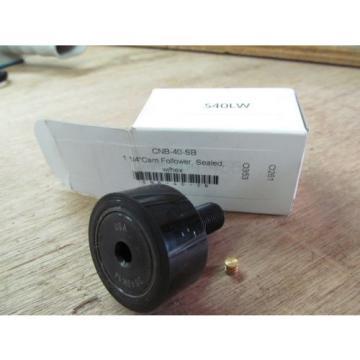 """CNB-40-SB 1 1/4"""" CAM FOLLOWER SEALED W/HEX S40LW"""